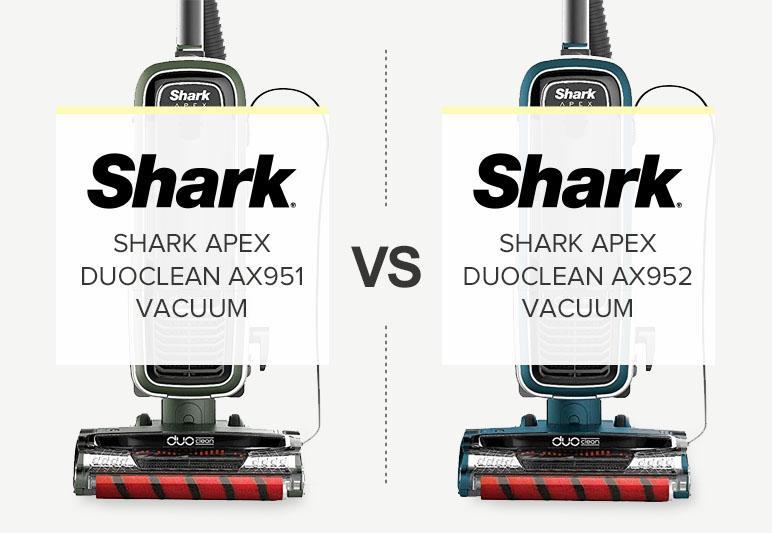 SHARK APEX AX951 VS AX952 COMPARISON