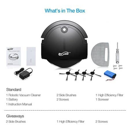 housmile robot vacuum -full set