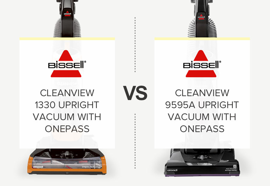 BISSELL CLEANVIEW 1330 VS 9595