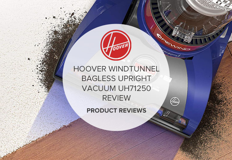 HOOVER WINDTUNNEL 2 WHOLE HOUSE REWIND BAGLESS UPRIGHT VACUUM UH71250 REVIEW