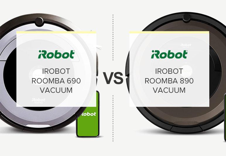 IROBOT ROOMBA 690 VS 890 COMPARISON