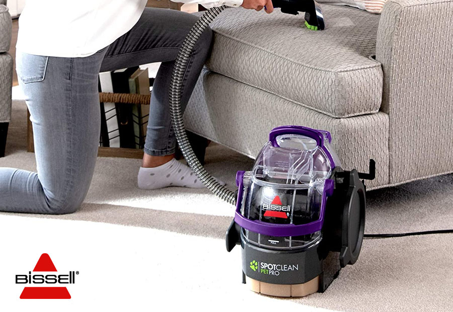 BISSELL SPOTCLEAN PRO PET PORTABLE CARPET CLEANER 2458