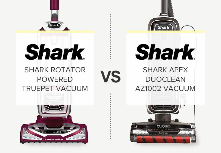 SHARK APEX VS ROTATOR COMPARISON