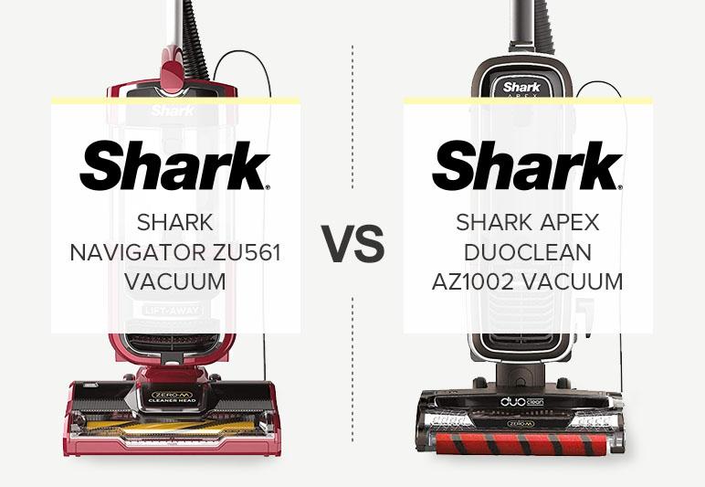 SHARK APEX VS SHARK NAVIGATOR WITH ZERO-M TECHNOLOGY COMPARISON