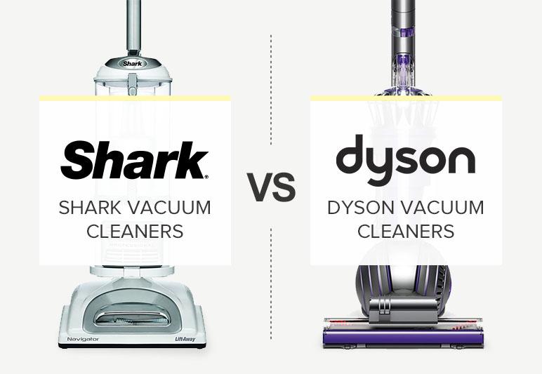 SHARK VS DYSON COMPARISON