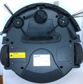 housmile robot vacuum - bottom view