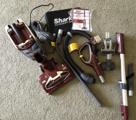 Shark DuoClean Powered Lift-Away NV803 full set