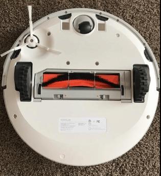 Roborock E20 Robot Vacuum Cleaner bottom view