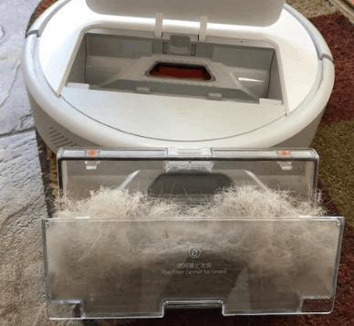 Roborock E20 Robot Vacuum Cleaner large dust bin