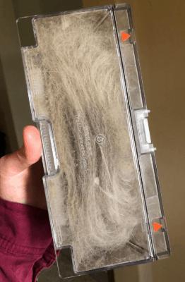 Roborock E20 Robot Vacuum Cleaner performance pick hair