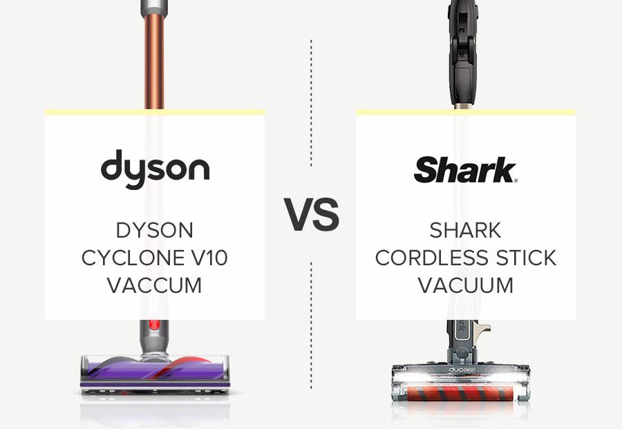 Dyson cyclone V10 vs Shark