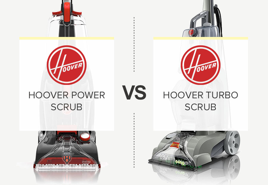 Hoover Turbo Scrub Vs Power Scrub – What Is The Difference Hoover Carpet Cleaners?