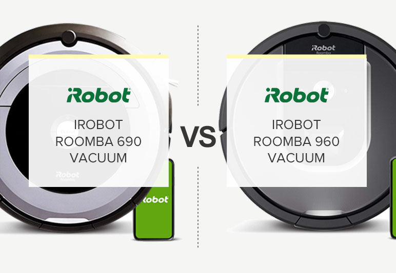 iRobot Roomba 690 vs 960 Comparison