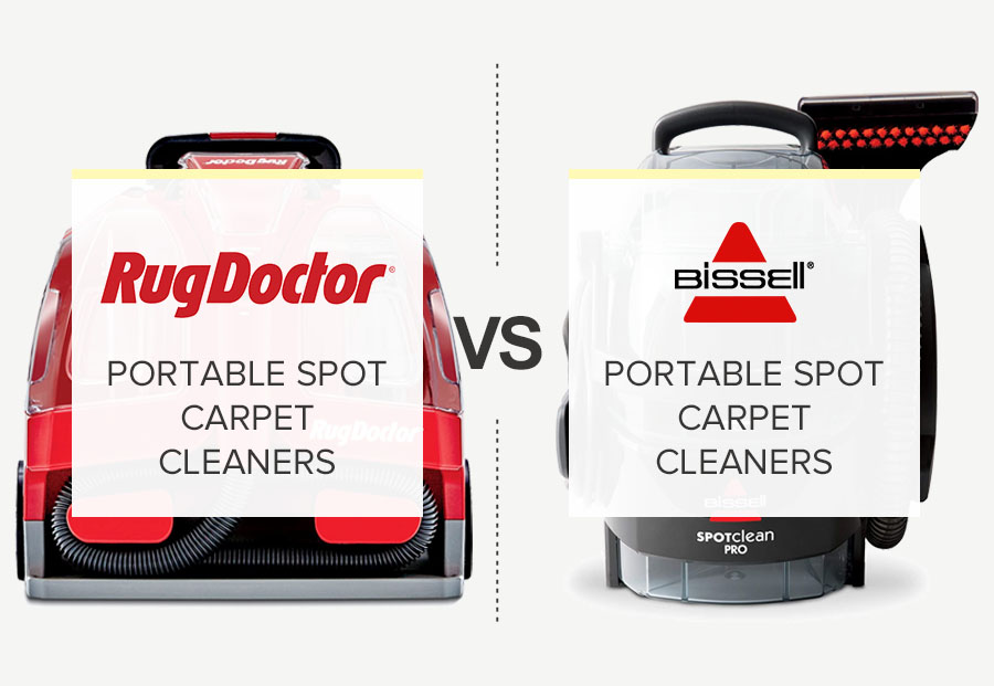 Rug Doctor Vs. Bissell Portable