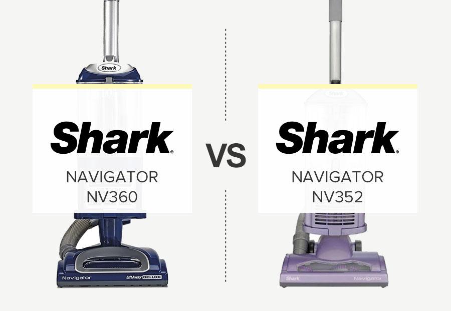 Shark NV352 vs nv360