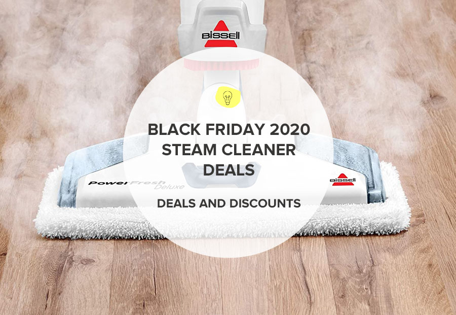 BLACK FRIDAY STEAM CLEANER DEALS