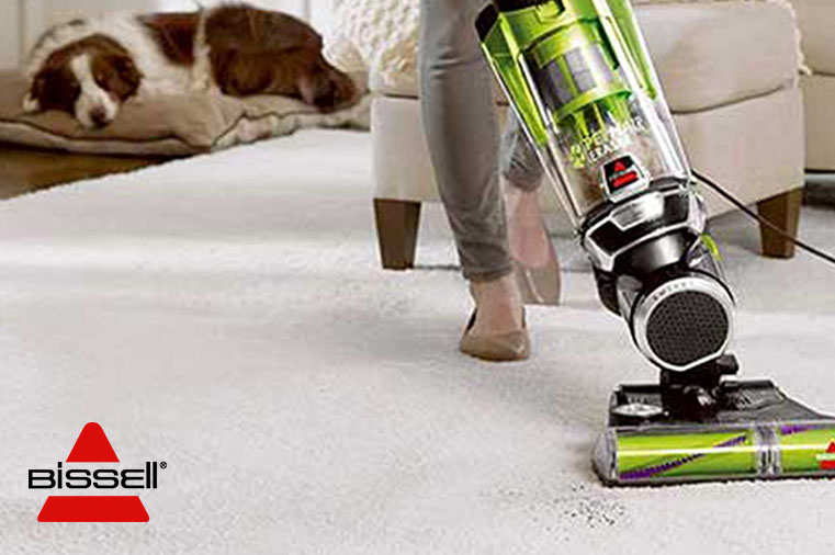 BISSELL PET HAIR ERASER 1650A IN ACTION