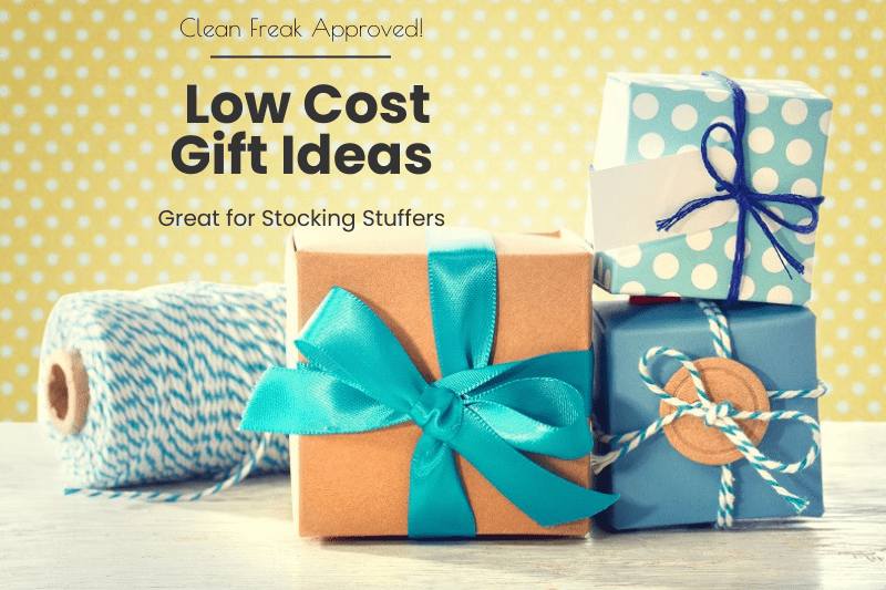 stocking stuffers and cheap gift ideas for clean freaks