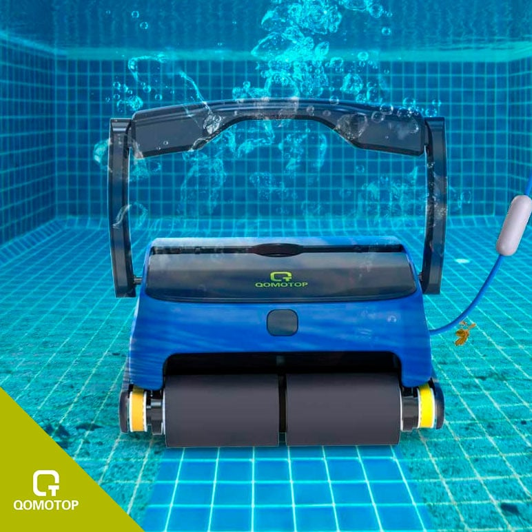 best above ground pool vacuum - OT QOMOTOP Automatic Pool Cleaner
